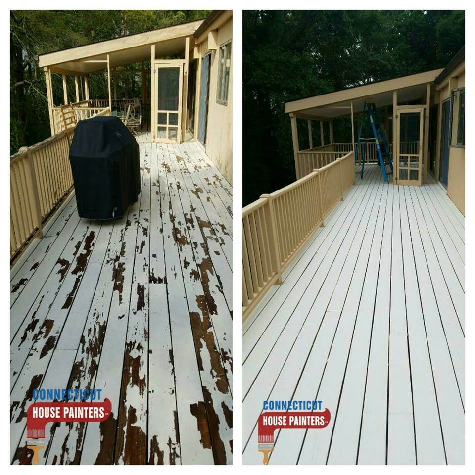 Deck Staining & Deck Painting Service